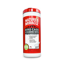 Nature's Miracle | Bird | Cage Scrubbing Wipes 30