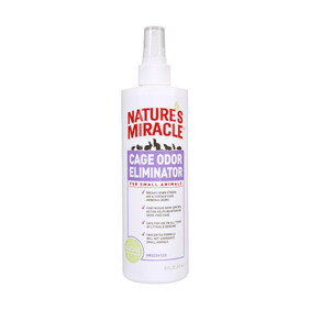 Natures Miracle | Small Animals | Cage Odour Eliminator For Small Animals 473ml