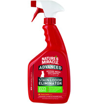Nature's Miracle | Stain & Odour | Advanced Stain & Odour Eliminator for Cats | Lemon | 946ml